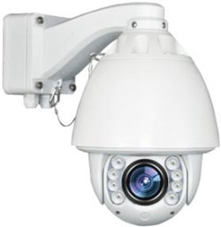 Outdoor Auto Tracking PTZ Camera   20x Zoom and 120m Night ...